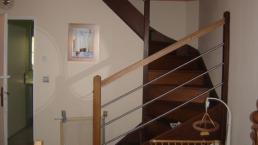 Réalisation De Souza Combles - escalier